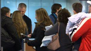 Voyageurs Aéroport Montréal